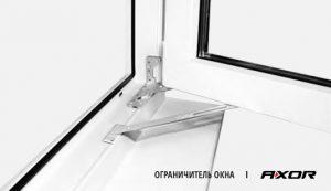 Открытие створки окна скрытой фурнитуры